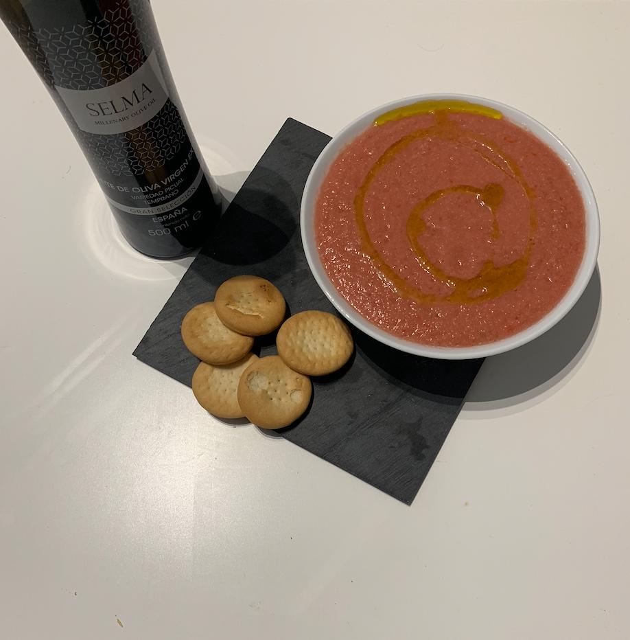 Receta Gazpacho andaluz con SELMA Millenary Olive Oil ...