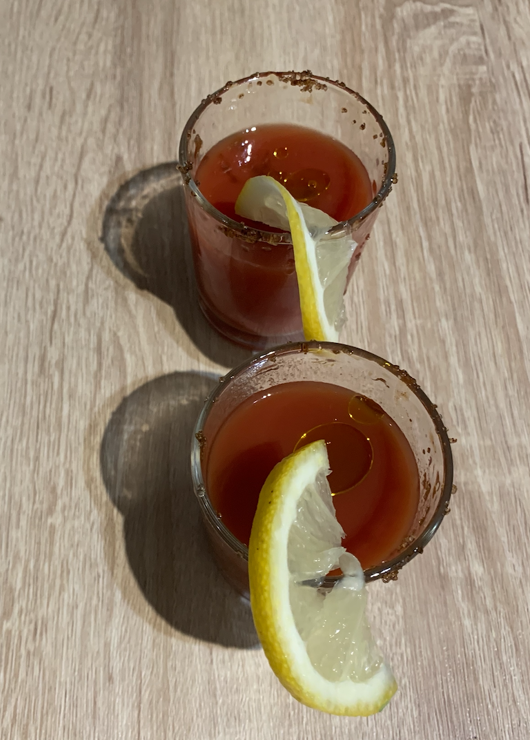 Receta SELMA: cocktail 'Virgin Mary'